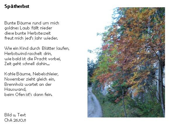Arbeitsblatt Vorschule ostern englisch foto : Gedicht Spu00e4therbst von Christa Astl bei e-Stories.de ...