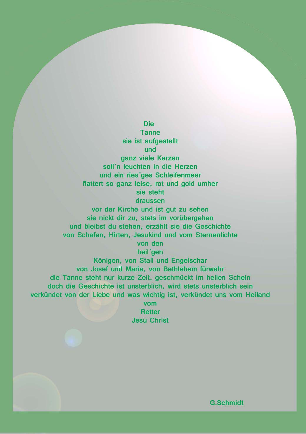 gedicht vorweihnachtszeit von gisela schmidt e stories. Black Bedroom Furniture Sets. Home Design Ideas