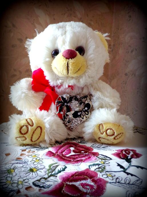 Gedicht Mein Kleiner Weißer Teddybär Von Karin Grandchamp Bei E