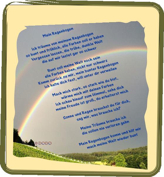 Farben regenbogen spruch