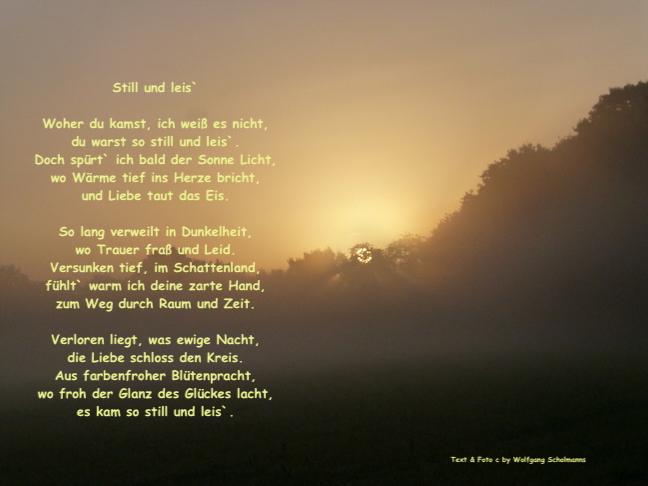 Gefühle liebe gedichte