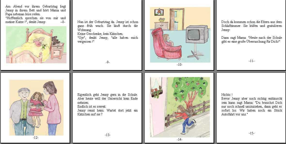 Geschichten schreiben